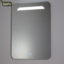 interruptor del tacto llev la luz bao espejo de maquillaje espejo de pared decorativos