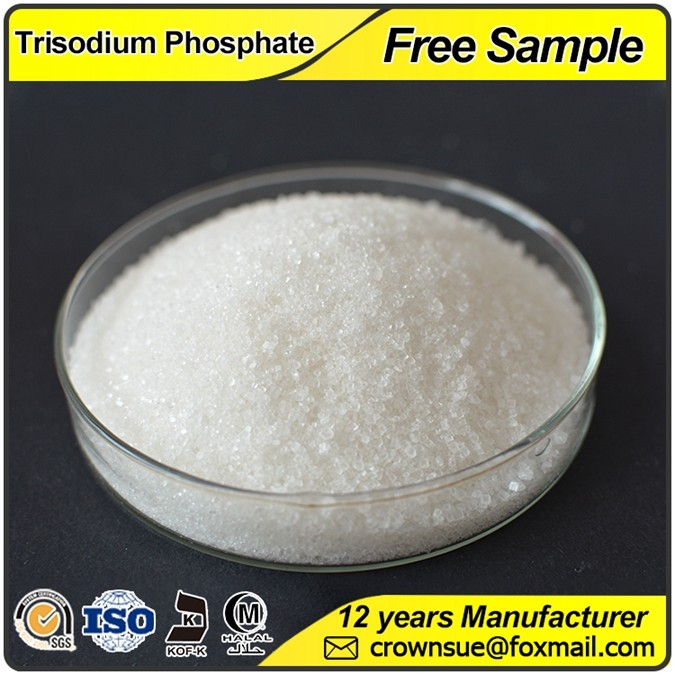 Crownsue Trisodium Phosphate Dodecahydrate Industrial Grade Food Grade Na3PO4 12 H2O