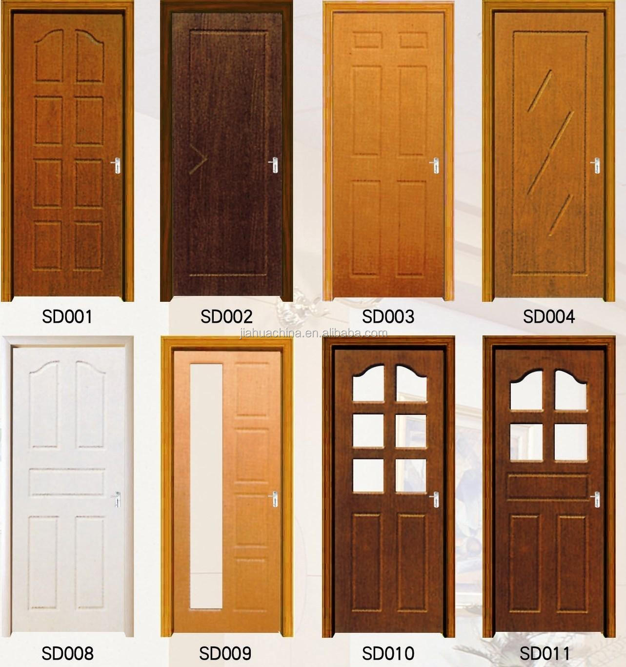 Most Popular Simple Design Wood Panel Door Design Made In