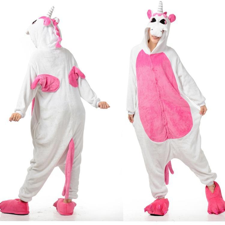 get quotations lovely animal costume pajamas onesies unicorn for adult men and women one piece onesie pajamas sleepwear