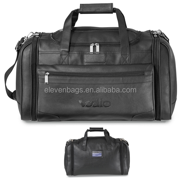 2016 Large Executive Travel Sport Pure Leather Sports Bag