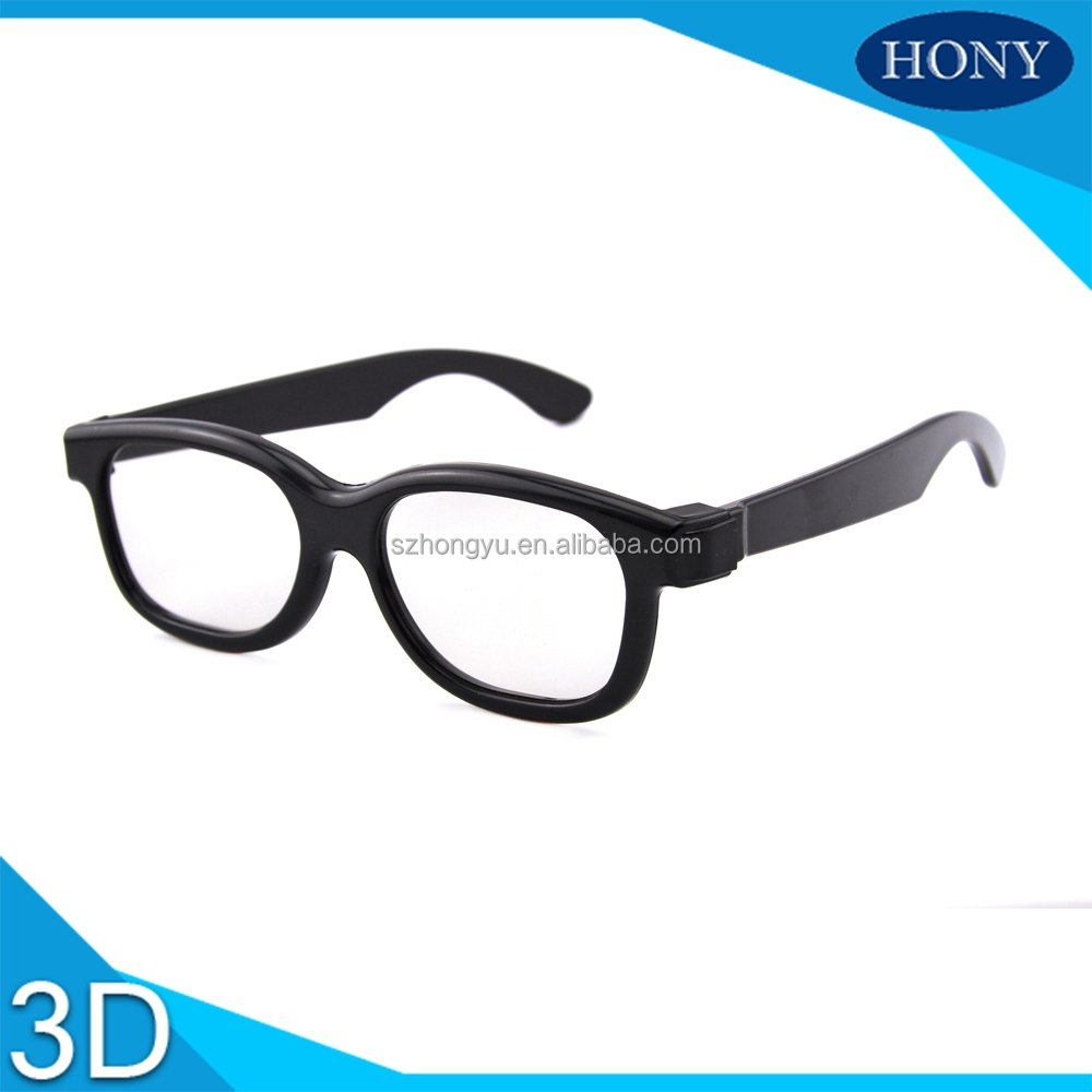 RealD degree 3d glasses circular polarized