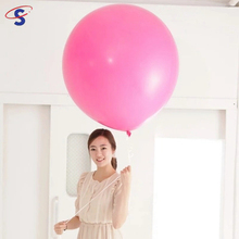 2017 Alibaba Hot Selling Product Globo Design 36inch Big Size Round Shape Giant Latex Balloon For Wedding Party Decorations