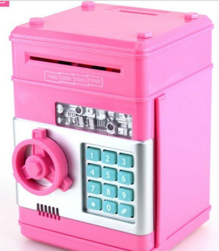 CT-449 2013 newest Creative automatically eat money piggy bank/mini safe box