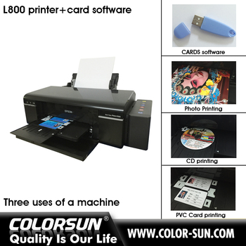 Inkjet Sublimation Printer A4 Size For Epson L800 With Card Software - Buy  L800 Printer For Epson,Inkjet Printer,Sublimation L800 Printer Product on