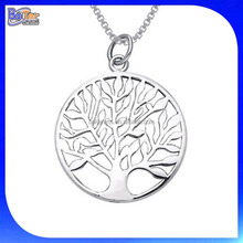 Custom 925 plata esterlina <span class=keywords><strong>celta</strong></span> Árbol de la vida collar al por mayor