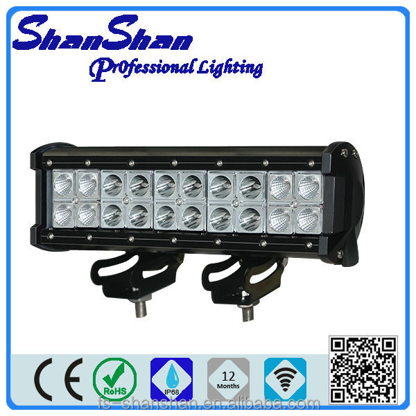 2014 new product ss-5072 72w 13.5inch boat accessories CE ROHS IP67 led light bar