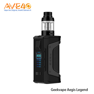 Wholesale Vapor Authentic Newest Vaporizers waterproof 2pcs 18650 cells 200W GeekVape Aegis Legend TC Kit (Standard Edition)