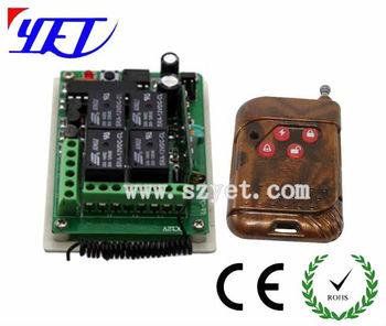 12v universal garage gate remote control receiver yet404pc for 12v garage door opener remote