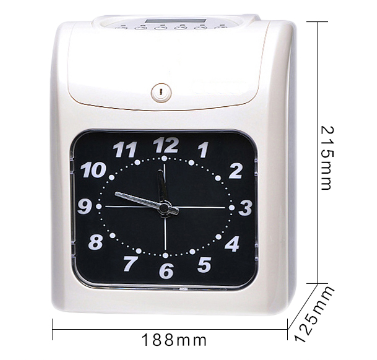 None-fingerprint time clock 2 colors printing electronic time recorder for sale