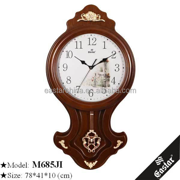 Wholesale wall clocks antique pendulum wall clocks antique pendulum wholesale supplier china - Stylish pendulum wall clock ...
