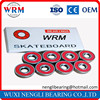 WRM Brand Name and Single Row Number of Row Mini Bearings 627 For Skateboarding