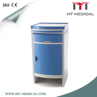 CE ISO Medical bedside table , hospital bedside table, hospital bedside lockers