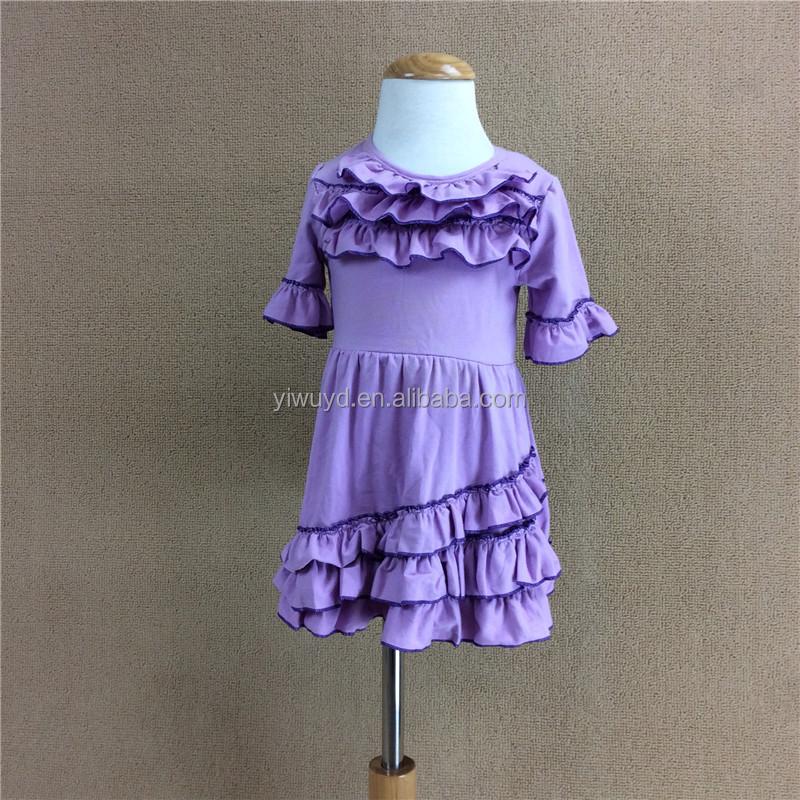 Venta al por mayor vestidos color purpura para niñas-Compre online ...