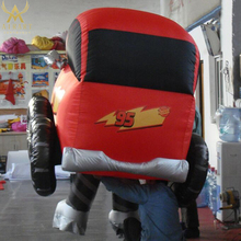 inflatable car costume