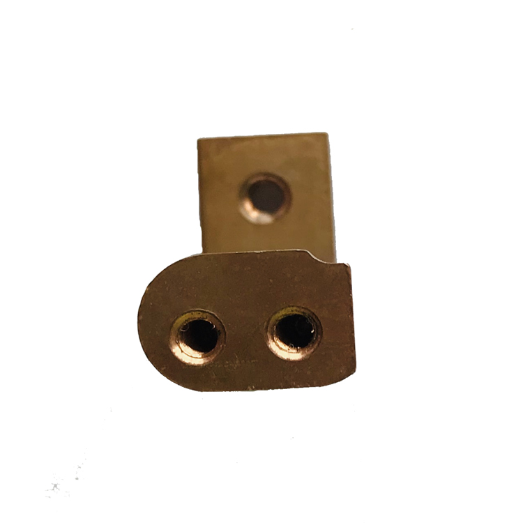 Automotive brass forgings / new energy car battery conductive column forgings China factory direct supply