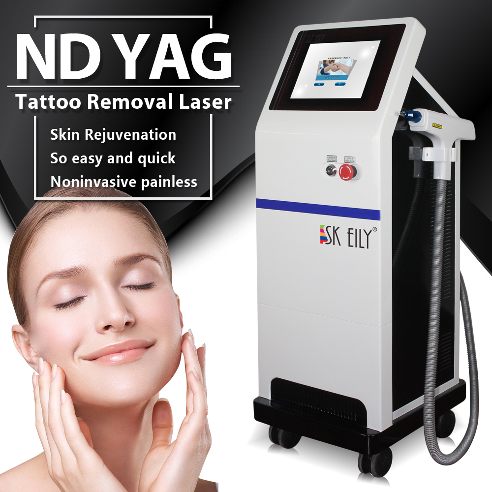 Korea laser tattoo removal and skin spot mole removal machine