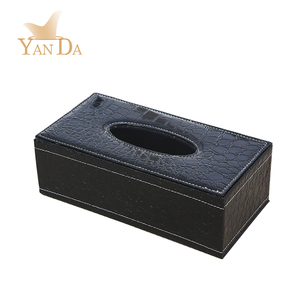 Durable restaurant napkin holder tissue box handmade tissue dispenser