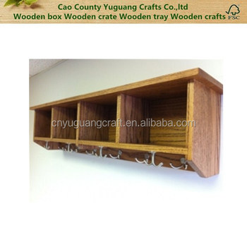 Coat Hooks Wood Wallsentryway Shelf With Cubbiescoat Hooks