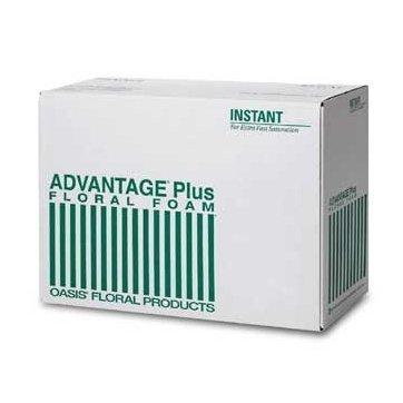 Oasis® Advantage® Plus Floral Foam (Case of 36 Bricks)