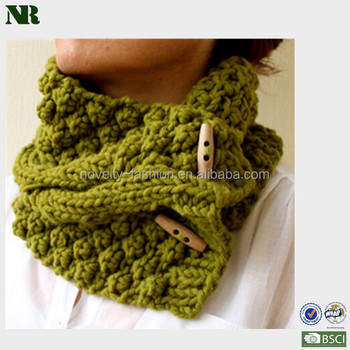 Fashion Hand Knitting Scarfcable Scarf Knitting Patterndouble Knit