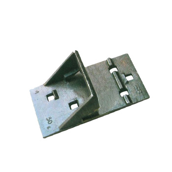 High Quality Railway Cast Iron Base Tie Plate For Sale