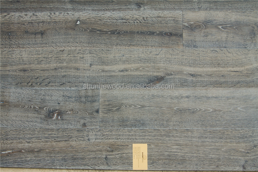Luo 1004-03 chemical treated oak hardwood flooring
