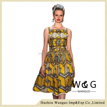 Girls Fashion Kitenge Dress