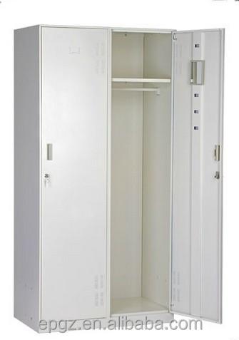 Bedroom Wardrobe Designs/cheap 2-door Metal& Steel Wardrobe Closet ...