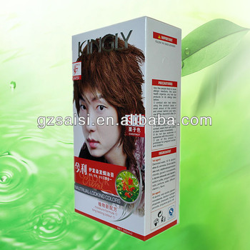 KINGLY Premanent bright red hair dye, red hair dye colors