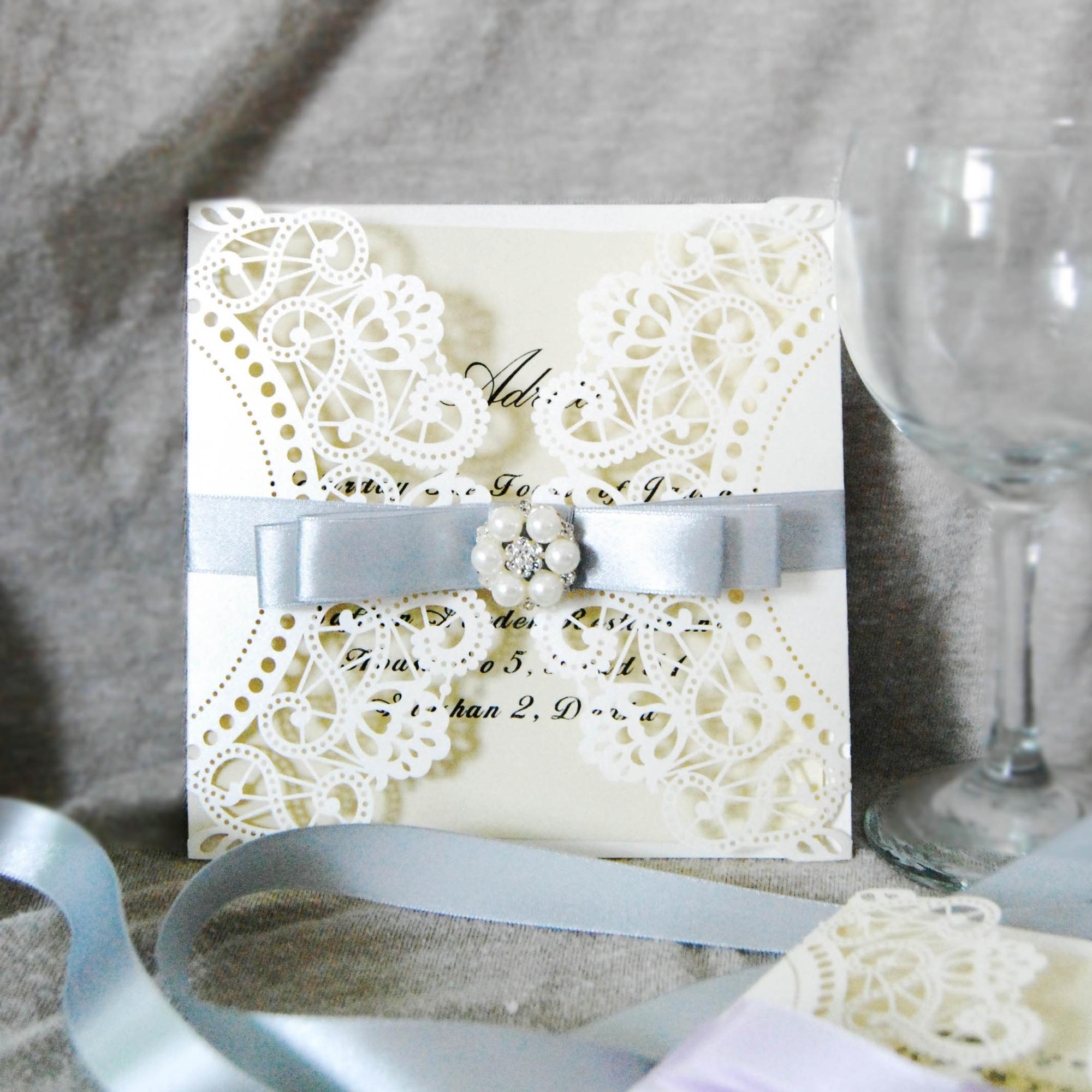 Popular style wedding card cheap envelopes for wedding invitations design rustic