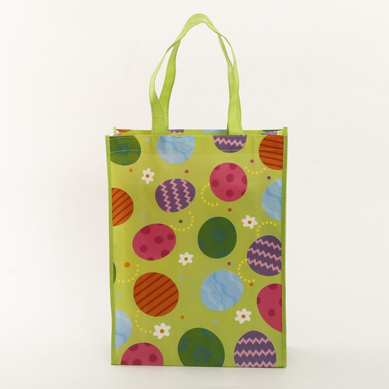 Full Color Imprint Recyclable Eco-friendly Customized Laminated PP Non Woven Shopping Bag