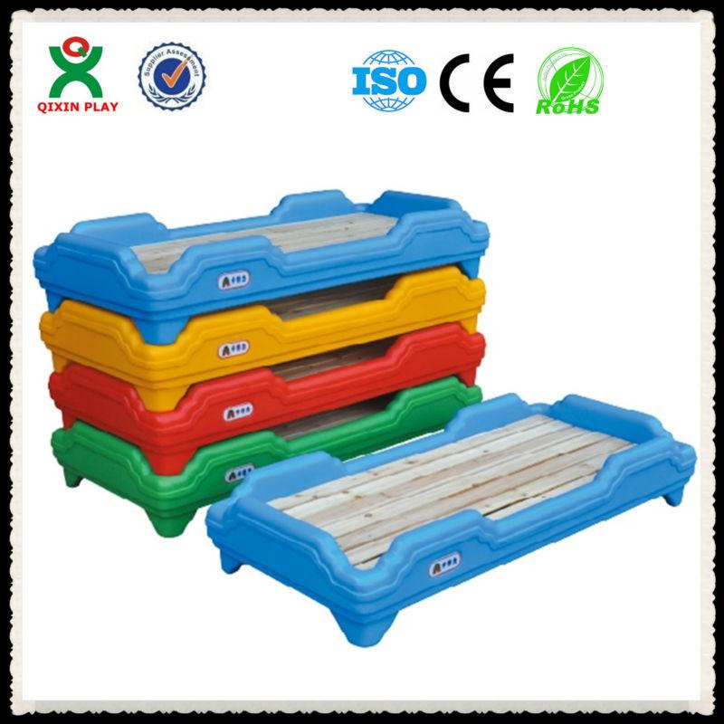Lovely Modern Preschool Furniture Children Plastic Bed Used Preschool Furniture For Sale Qx 198b
