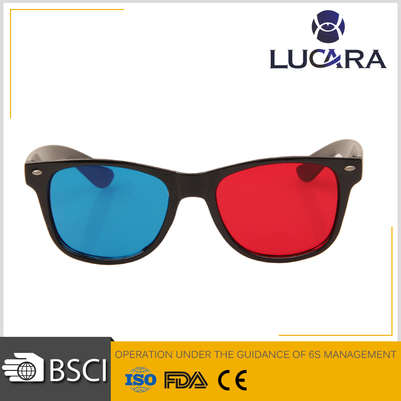 Good design for 3d glasses red cyan cheap 3d glasses sunglasses no brand