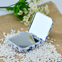 Marble lip Style Makeup mirror lighted magnifying power bank review