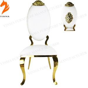 New design stainless steel dinning chair for restaurant