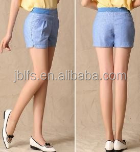 Hot teen in tight shorts