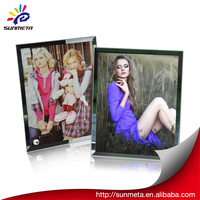2014 new product photo frame glass painting photo frame