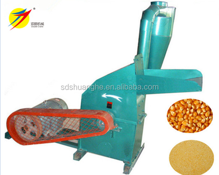 Corn cob grinding machine, fodder cutting machine