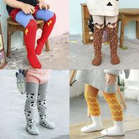 ZS12 children cotton cartoon tights