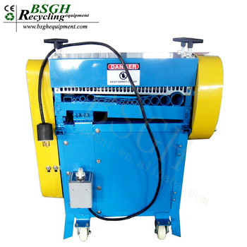 bs-kob dual knife wire stripper machine stripping usage copper cable  insulation removal tool