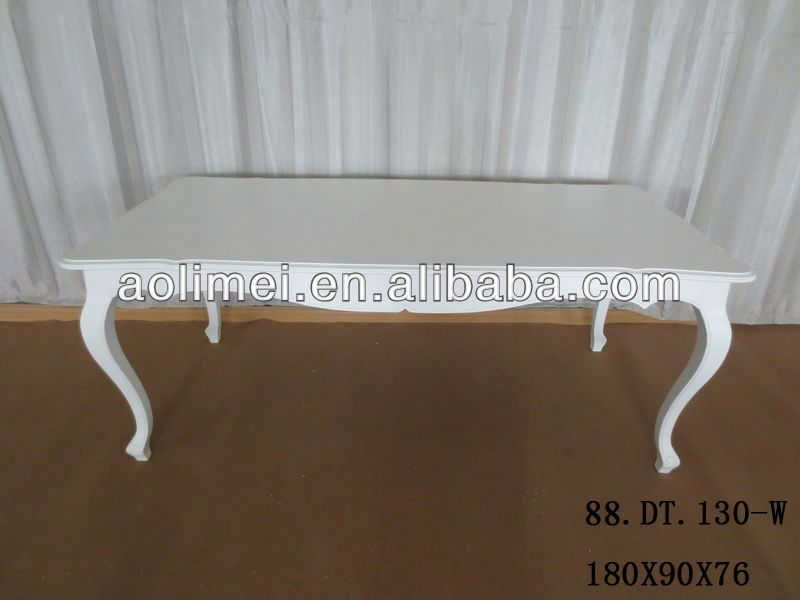 White French Louis Xv Dining Table - Buy Louis Xv Dining Table,White ...