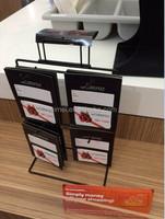 3 tier metal hook display rack mobile phone accessories display
