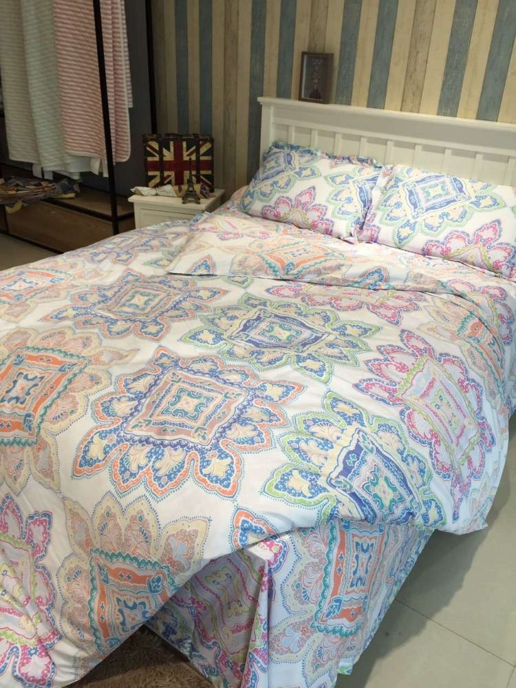 Bohemia Style Soft and Silky Tencel Bedding Set