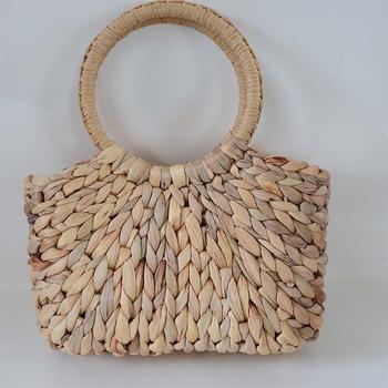 Chinese Supplier Handbag Straw Bag Beach Mini