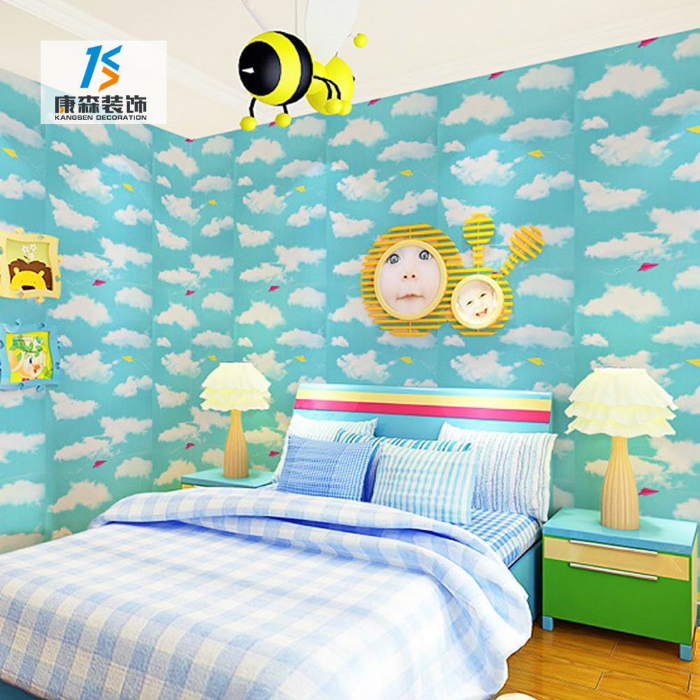 Al por mayor cita extraíble Sala custom cuarto de niños familia árbol 3d vinilo decalques de pared para pared