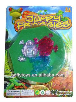 6343185774da Jumping Frog Game Kids Game Plastic Frog Toy Jump - Buy Plastic Frog ...