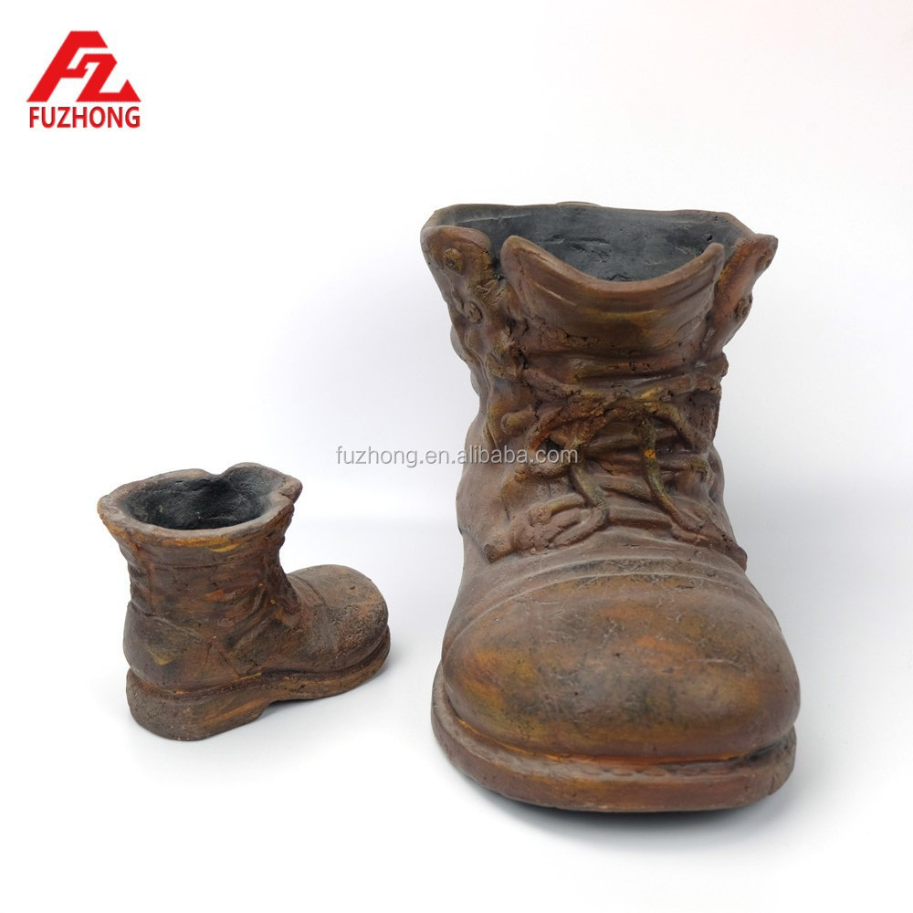 Ceramic boot planters home image ideas ceramic decorative shoe shaped flower potplantergarden reviewsmspy