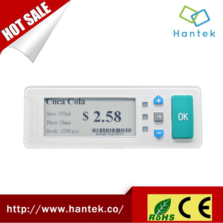 "2.9"" epaper digital price tags for warehouse esl"