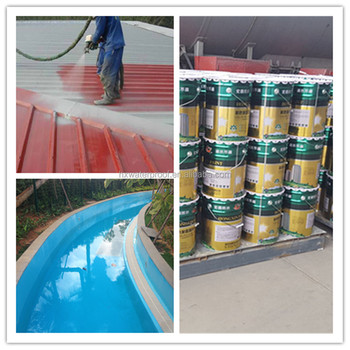 Using In Swimming Pool Environmental Friendly Waterproof Spray Coating
